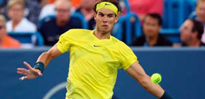 Nadal también se deshace de Federer
