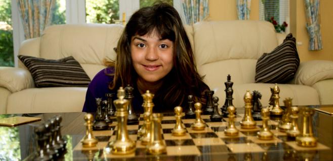 Una niña de 11 años, más inteligente que Einstein