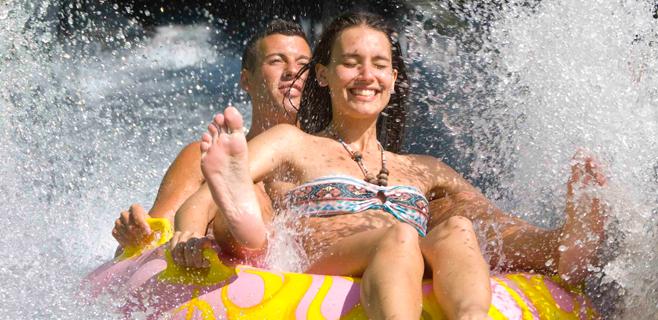 Los parques acuáticos recomiendan respetar el tiempo de digestión