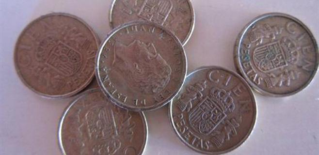 Los españoles aún guardan 1.681 millones en pesetas