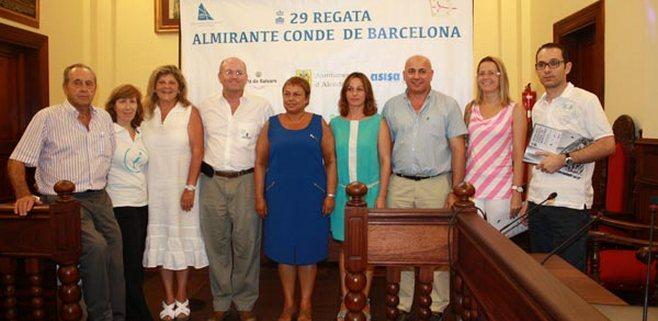 """La """"Almirante Conde de Barcelona"""" suelta amarras en Alcudia"""