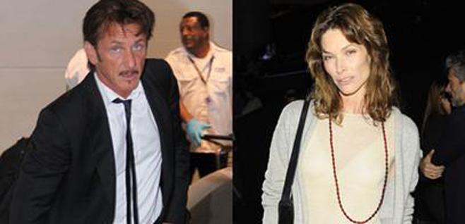 Sean Penn y Cristina Piaget, 'cazados' en aguas de Ibiza