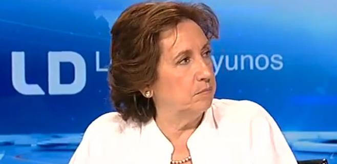Victoria Prego ingresada tras sufrir un ictus