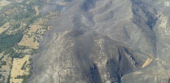 El IBANAT da el incendio de Artá y Capdepera por totalmente controlado