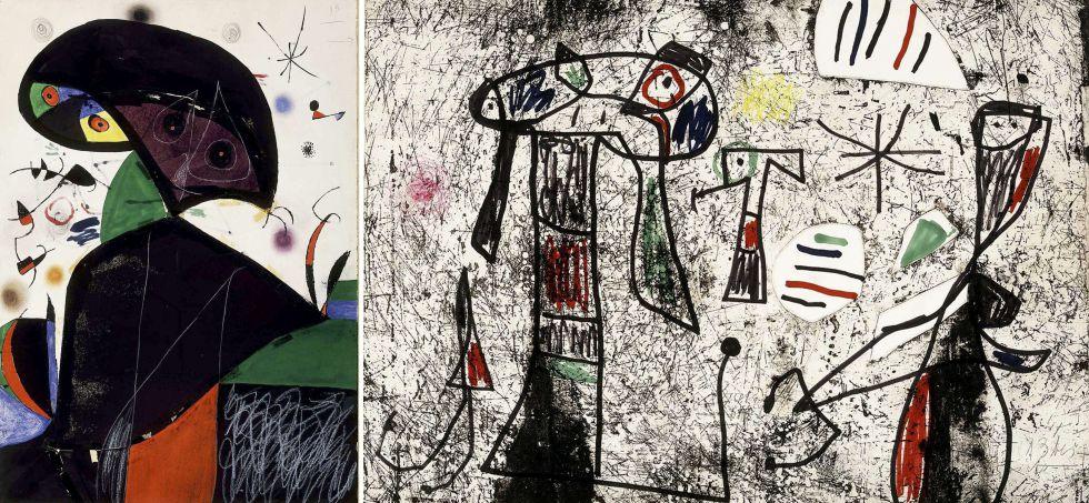 Aparece el boceto extraviado de Miró