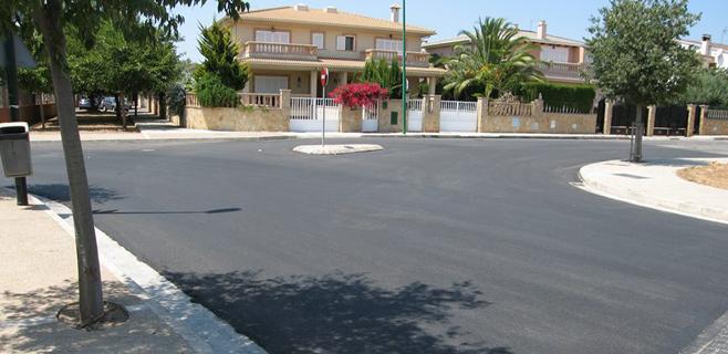 Marratxí completa una fase de asfaltado de su plan municipal