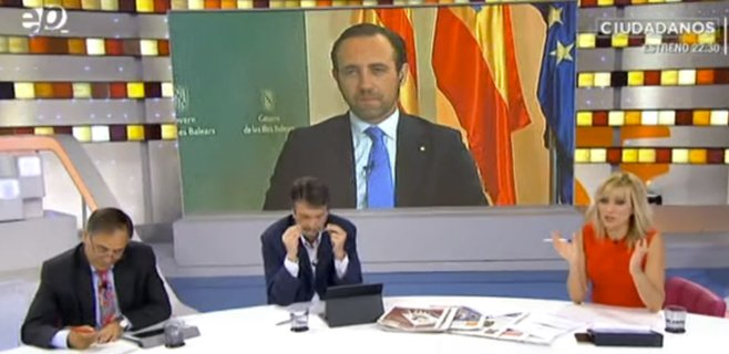 Bauzá aboga por extender su ERE de diputados a las Cortes Generales