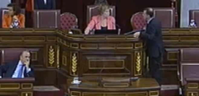 Bosch (ERC), expulsado de la tribuna del Congreso por el TIL