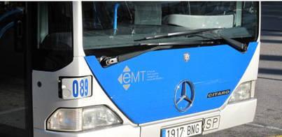 Diez heridos tras la colisión entre un autobús y un vehículo en Palma