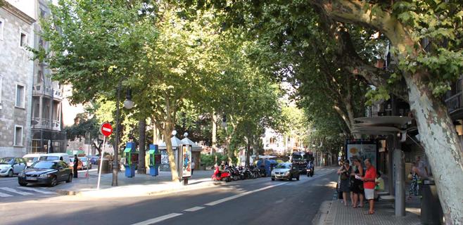Empiezan tres meses y medio de obras en la calle Unió y plaça des Mercat