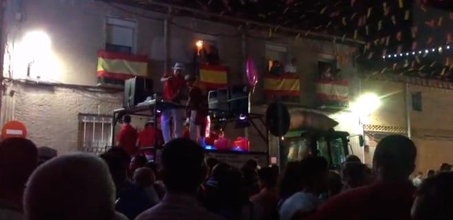 Bandera franquista y