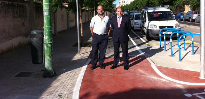 Inaugurado el tramo de carril-bici entre la carretera de Valldemossa y Sóller