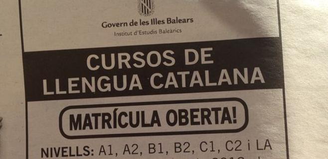 Discurso por el mallorquín, papel oficial por la lengua catalana