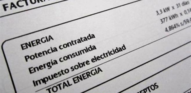 El recibo de la luz baja un 5,4% en febrero