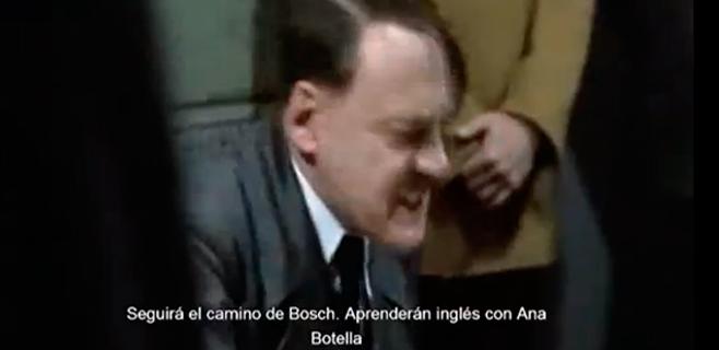 Profesores de Ibiza asocian a Bauzá con Hitler en un montaje de vídeo