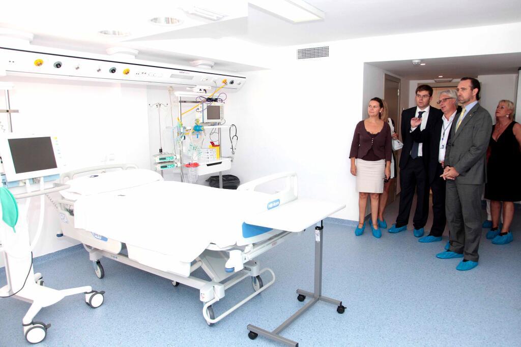 Bauzá alaba la apuesta por el turismo sanitario del Hospital de Llevant