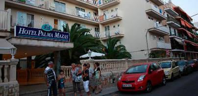 Fallece tras caer de un quinto piso en un hotel de s'Arenal de Llucmajor