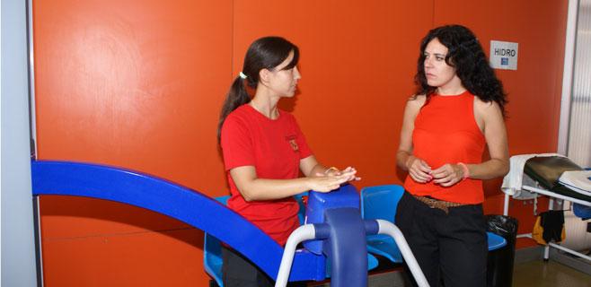 Rehabilitaci�n del Centro Joan Cresp� incrementa sus pacientes un 50%
