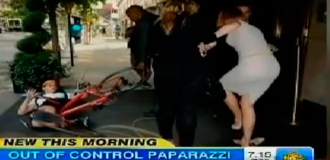 Nicole Kidman, atropellada