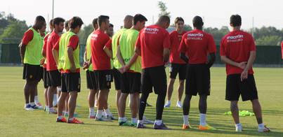Nuevo match ball para José Luis Oltra