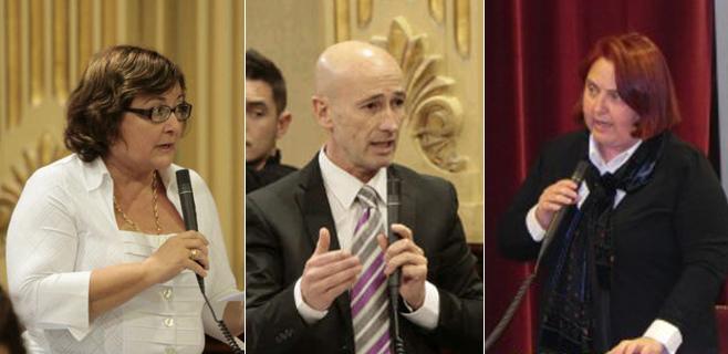 Marí, Pastor y Font piden Grupo Mixto