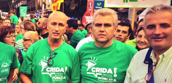 Muchos políticos y caras conocidas en la marcha
