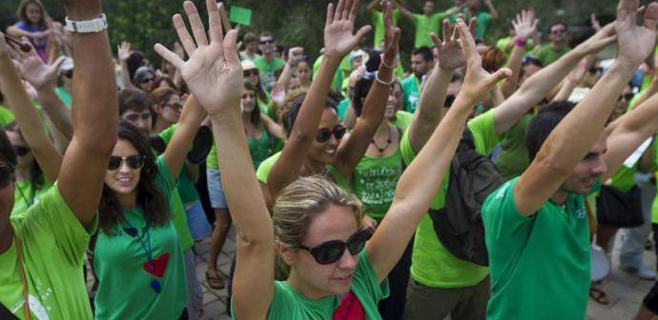 La Plataforma Crida prevé superar la cifra histórica de 50.000 manifestantes