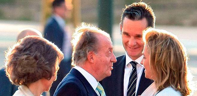 El rey prestó 1,2 millones ante notario a su hija para comprar Pedralbes