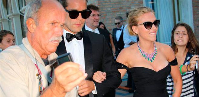 Scarlett Johanson se casa con un periodista