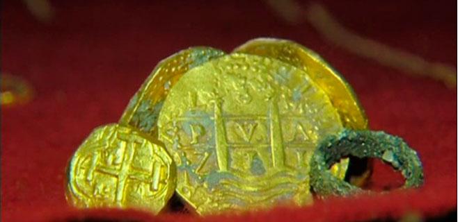 Una familia encuentra un tesoro escondido de 227.700 euros