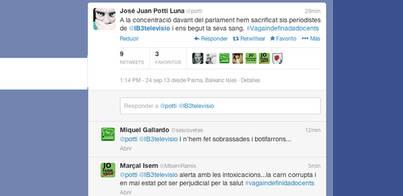 Bromas macabras contra periodistas de IB3