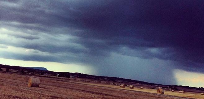 Fin de semana de lluvia y tormentas