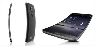 LG presenta su primer teléfono curvado