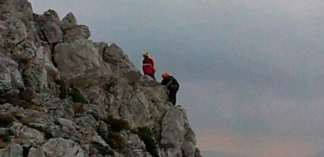 Suicidio frustado en el Puig de Sa Font