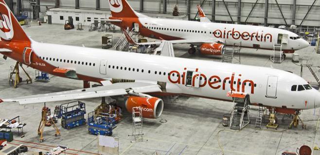 Air Berlín deja a 90 pasajeros en tierra porque al avión