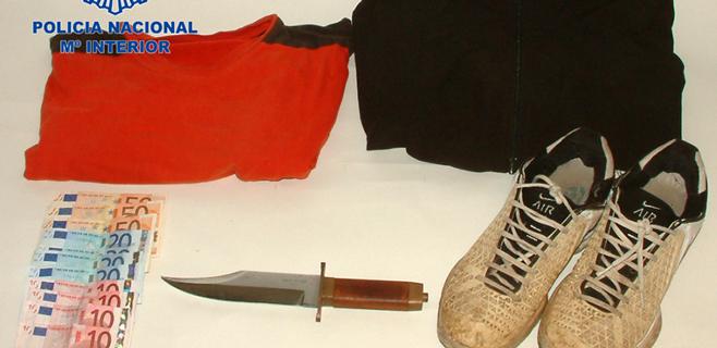 A la cárcel por atracar con un machete un comercio del centro de Palma