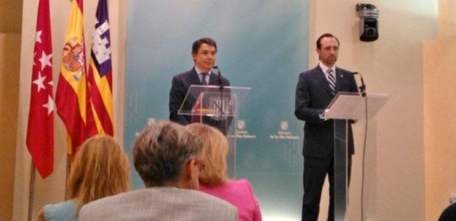 Bauzá y González escenifican la entente por la financiación autonómica