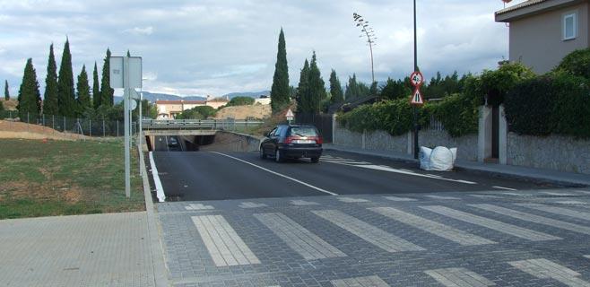 El paso inferior de Can Carbonell quedará cerrado 2 meses