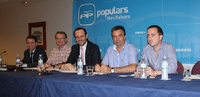Maratón del PP por los pueblos de Mallorca para presentar candidatos