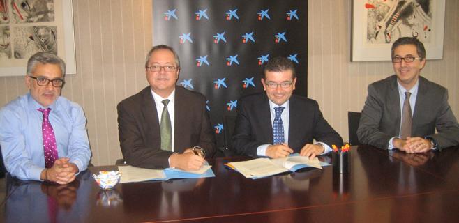 Acuerdo de colaboración entra La Caixa y COTME