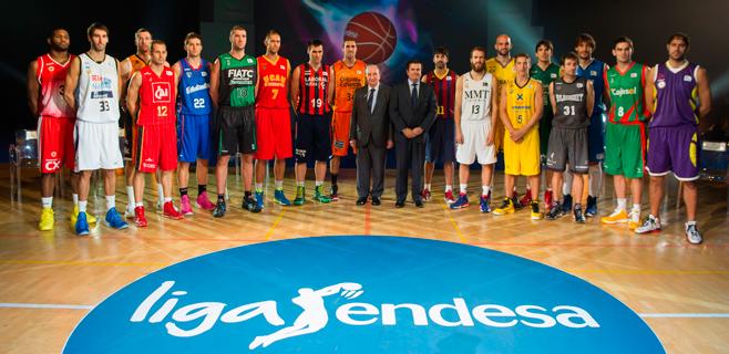Estrellas del baloncesto español presentan la Liga Endesa