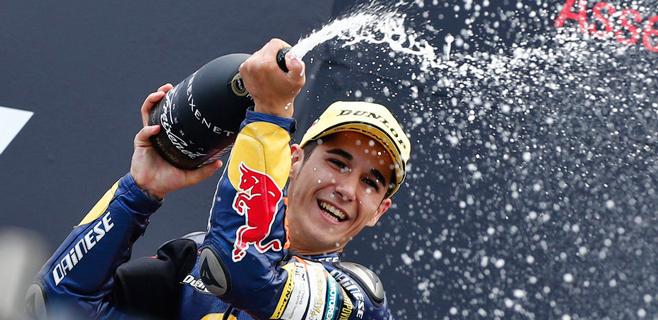 Luis Salom es más líder en Moto3