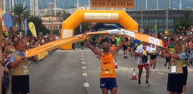 Miquel Capó gana por quinta vez la TUI Marathon