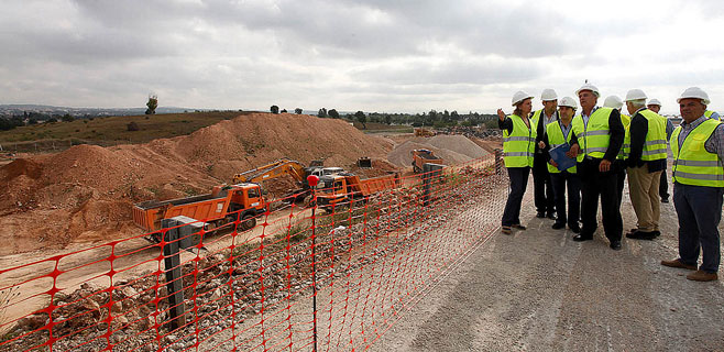 Las obras del Segundo Cinturón acabarán 5 meses antes de lo previsto