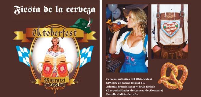 Marratxí se prepara para su II Oktoberfest
