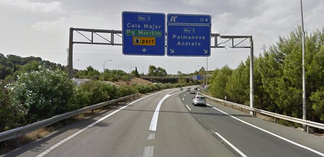 Retenciones en la Vía de Cintura por un accidente en el túnel de Génova