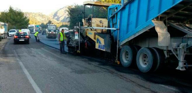 Comienzan las obras de mejora en 9 kilómetros de la vía Sa Pobla-Pollença