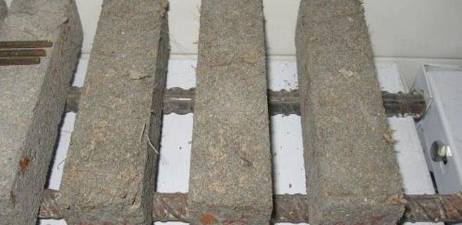 La posidonia sirve para fabricar un nuevo tipo de hormigón