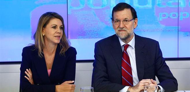 Rajoy promete a sus barones que no cambiará