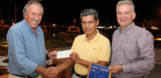 El Club Rotary Pollença entrega 6.000€ al Projecte Home